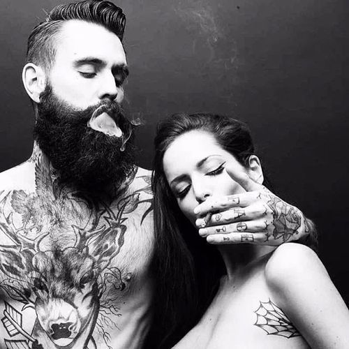 Przytul ją… – Bearded, inked and awesome