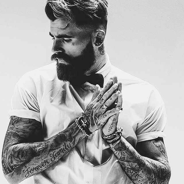 3 cm w bicepsie w miesiąc! – Bearded, inked and awesome